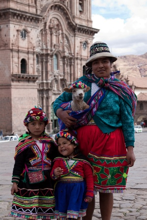 Familia Peruana.